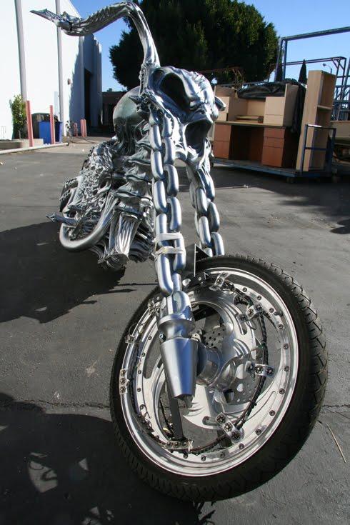 Ghost rider moto