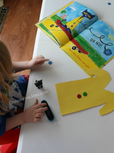 crayon freckles pete the cat and his four groovy buttons activities