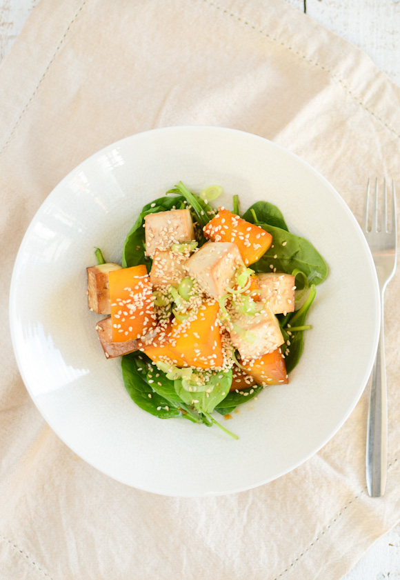 Permalink to Tamari Roasted Pumpkin As Well As Tofu