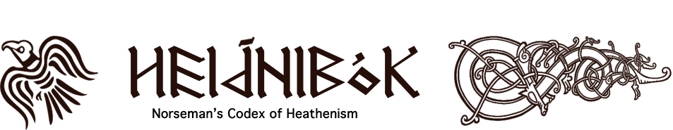 Heiðnibók - Norseman's Codex of Heathenism