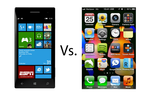 Windows phone vs iphone