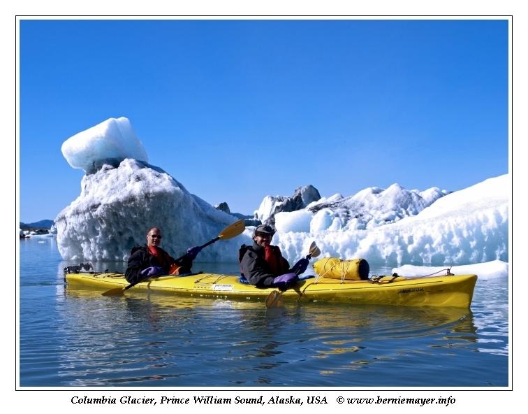 Columbia Glacier Kayak