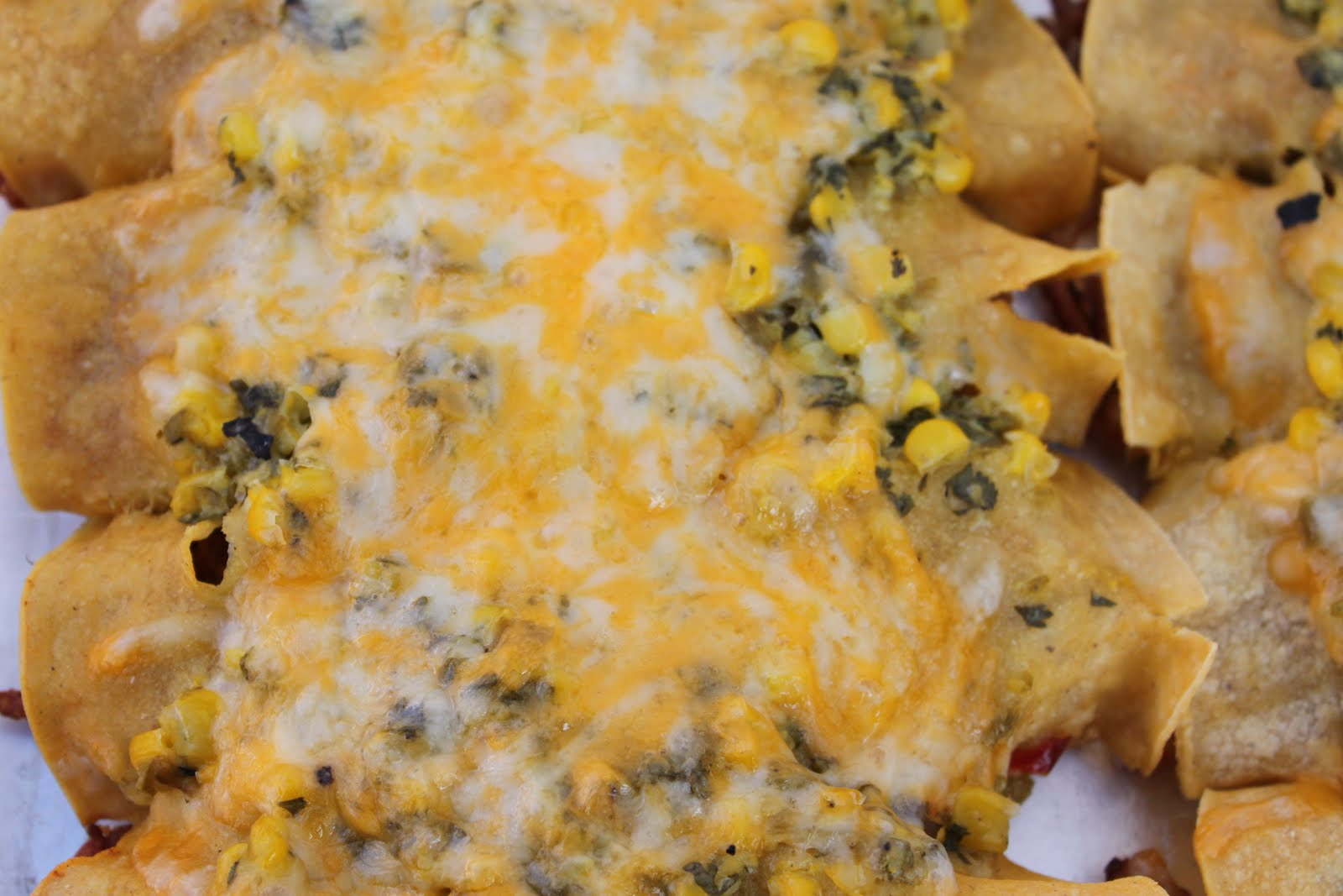 Bountiful Kitchen: Ground Turkey Enchiladas with Corn and Cilantro ...