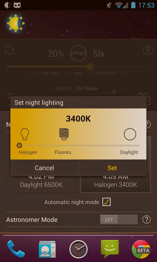 Lux Auto Brightness v1.99.9991