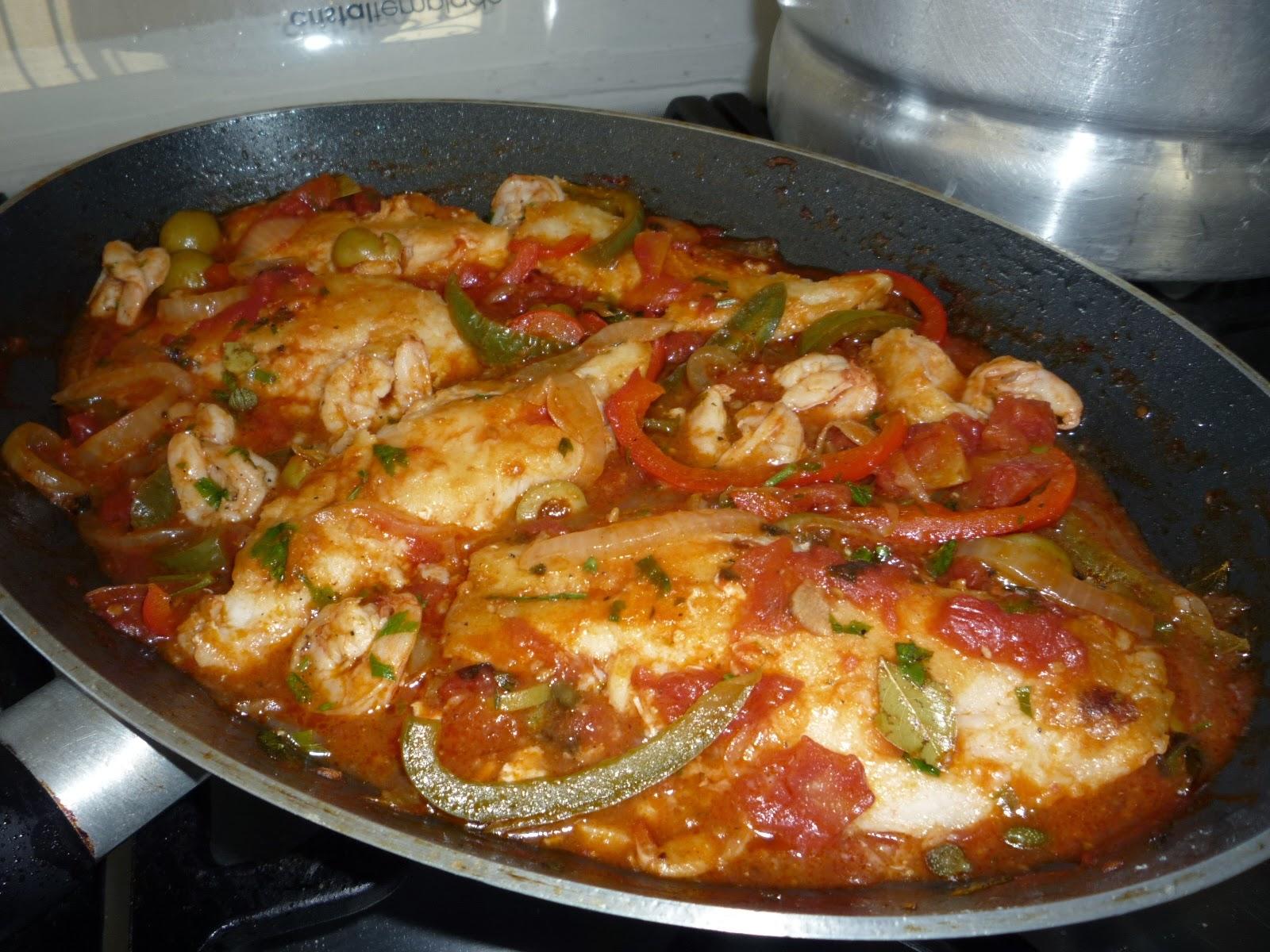 Gusta usted filetes de pescado a la veracruzana for Comida para tilapia