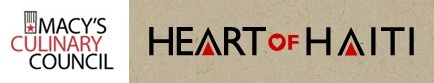 macys culinary council heart of haiti logo