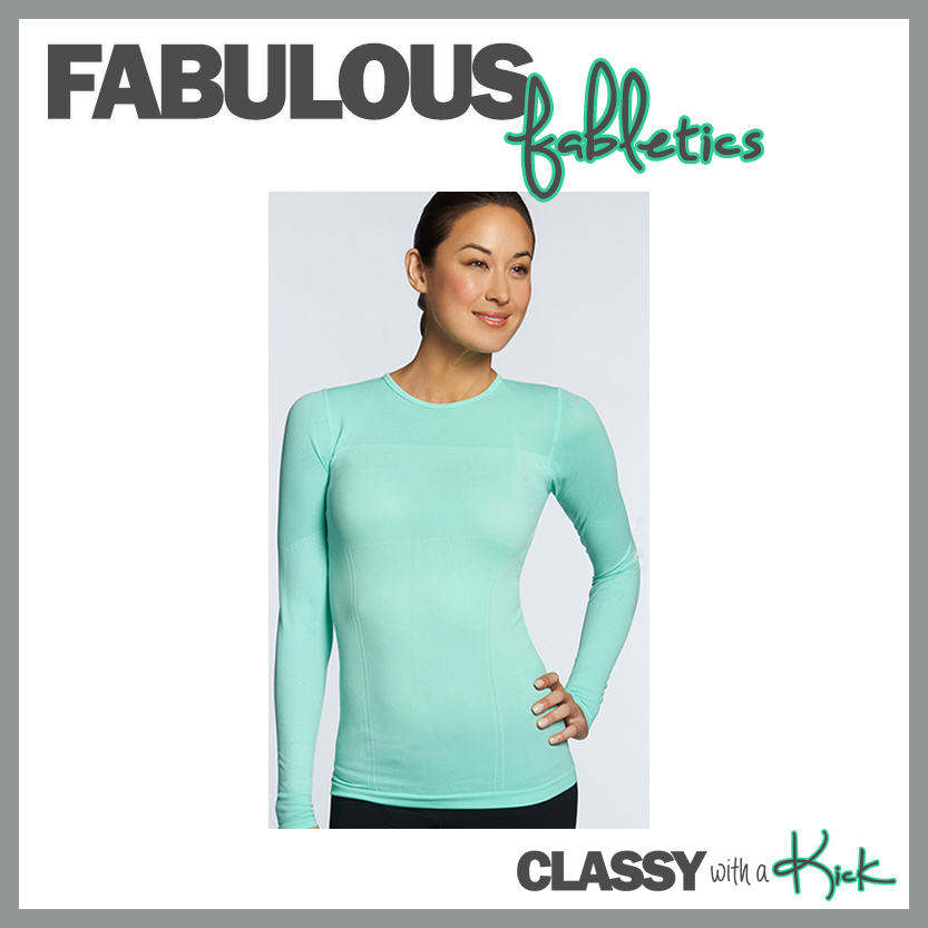 Classy with a Kick: Help for Lululemon Addicts - Fabletics Eureka Top