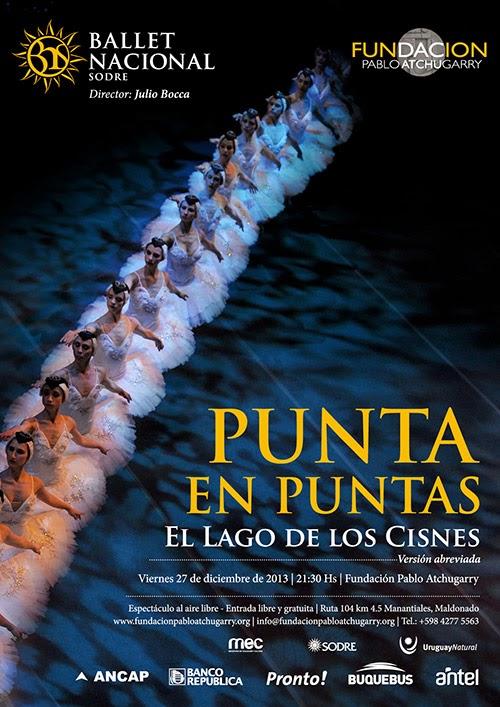 27 DE DICIEMBRE | PUNTA EN PUNTAS - Lago de los Cisnes