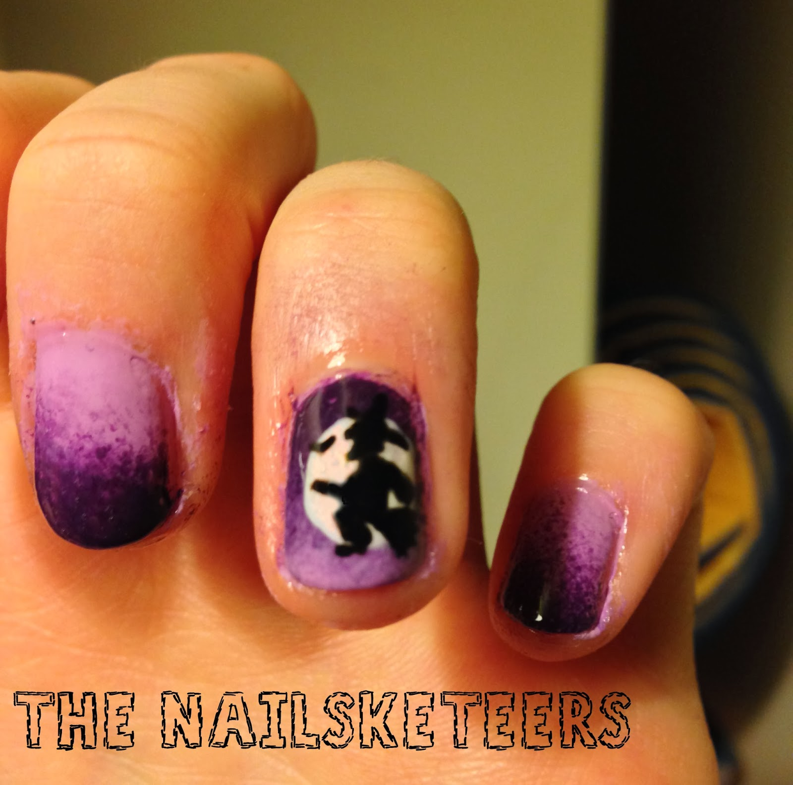 the nailsketeers: halloween nails (that are suitable for work)