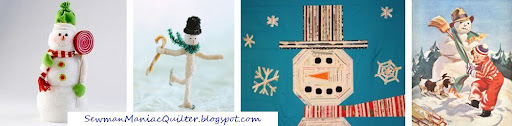 Snowman Maniac Quilter
