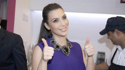Kim Kardashian - soin sanglant pour son teint