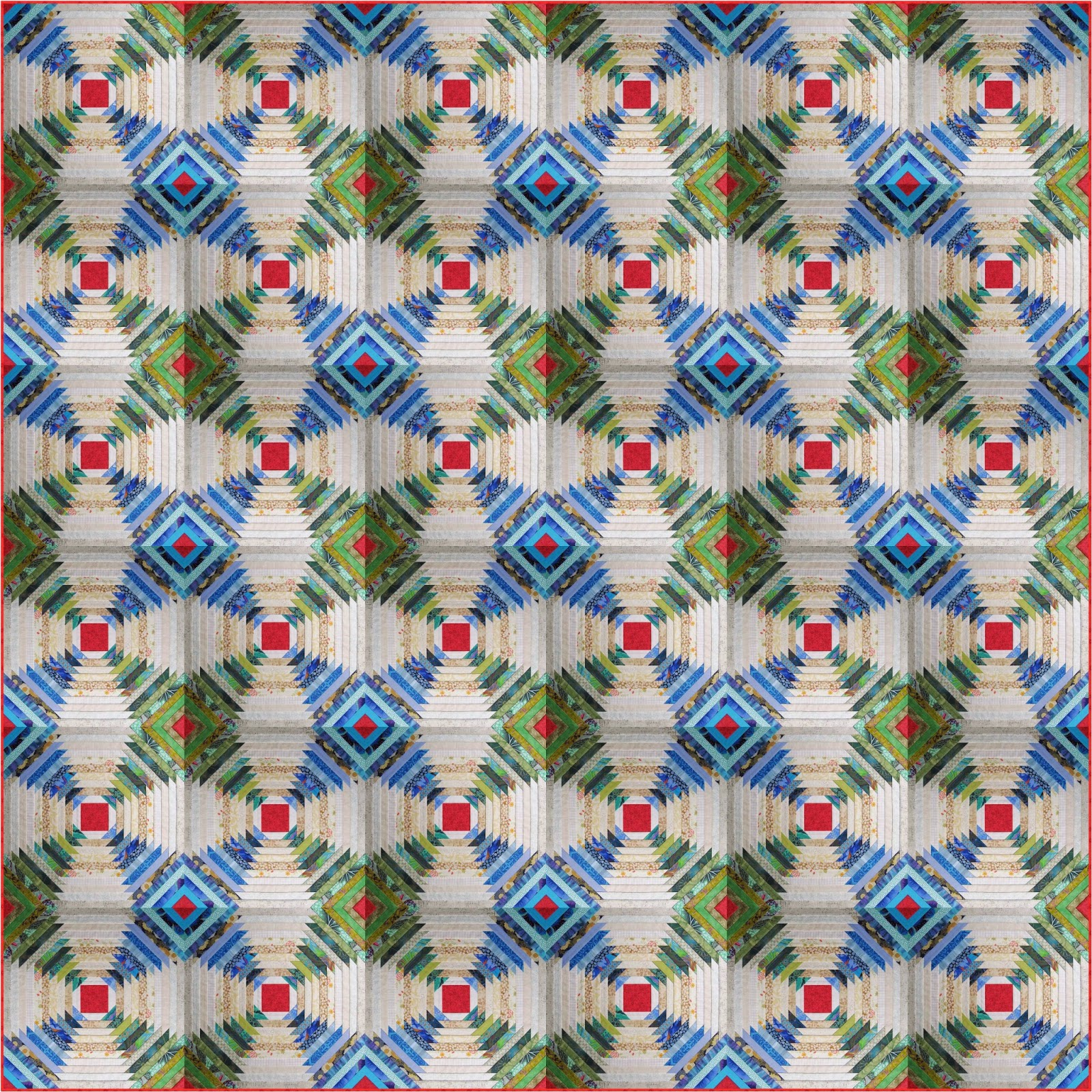 Cheeky Cognoscenti: Design Wall Monday: Pineapple Paper Piecing ... : pineapple quilt - Adamdwight.com