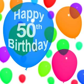 Frases Para Cumpleaños: Happy 50th Birthday