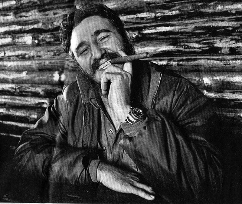 Los Rolex revolucionarios de Castro y Guevara...