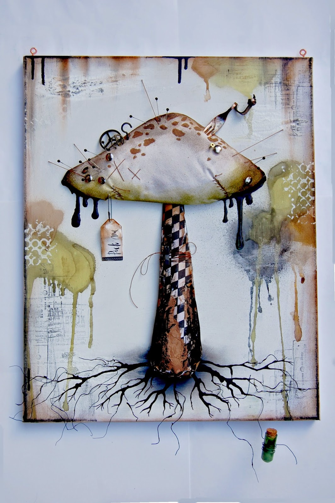 How to scrapbook canvas - Hello Everyone Let S Contunue With The November Canvas Taste Here Is My Second Mixed Media Canvas That Is Folowing My Gothic Fairytale Style The Poison