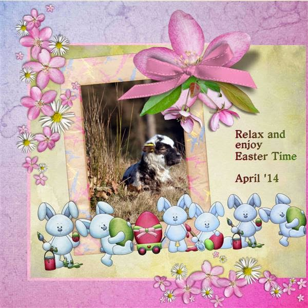 Happy Scrap Arts ::  Easter Bunnies