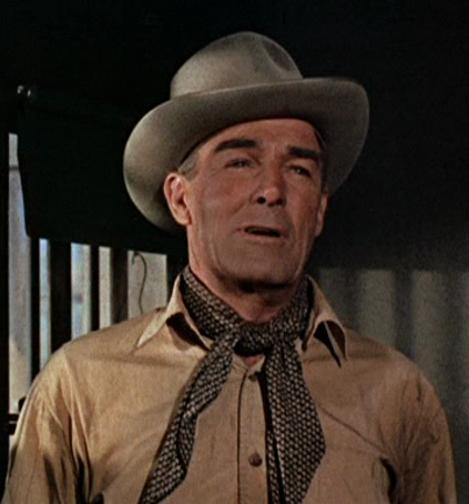 Randolph Scott Son Randolph Scott as Buchanan