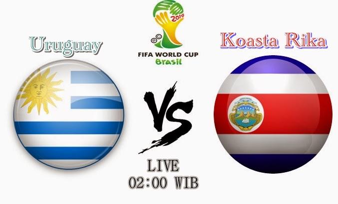 Prediksi Pertandingan Uruguay vs Kosta Rika