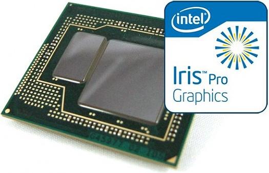 Процессоры Intel Core с графикой Iris Pro