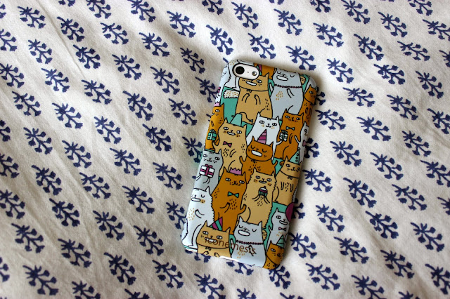 Picture of Iconemesis Gemma Correll Cats Case for iPhone 5c