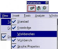 Access by Workbench Toolbar