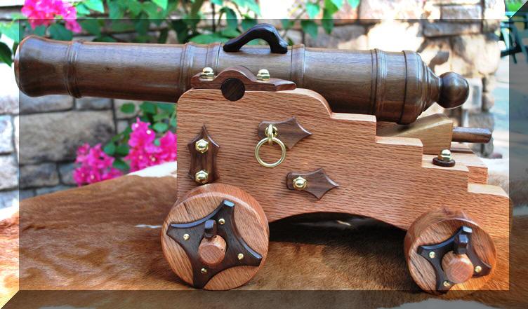 Как сделать пушку не из дерева