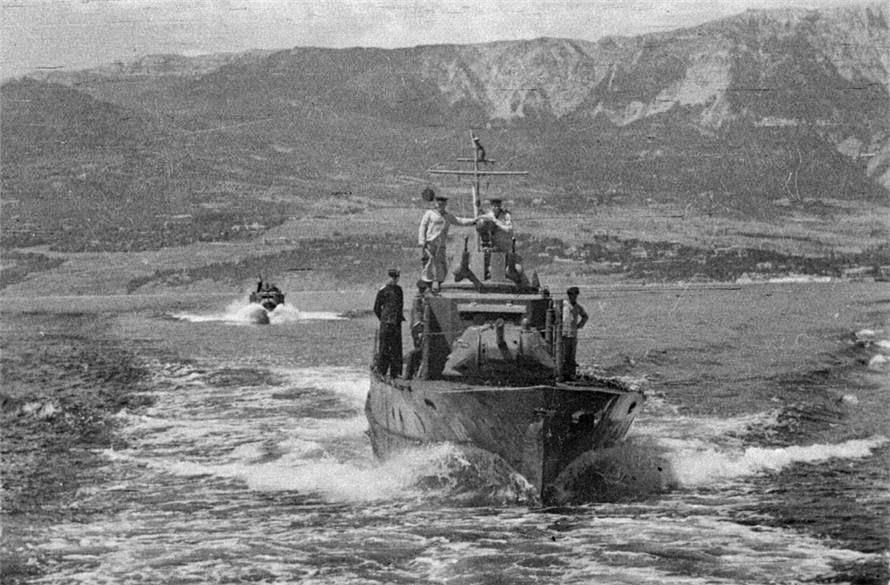 Советские бронекатера Черноморского флота