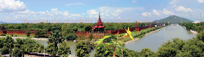 Mandalay Palace View