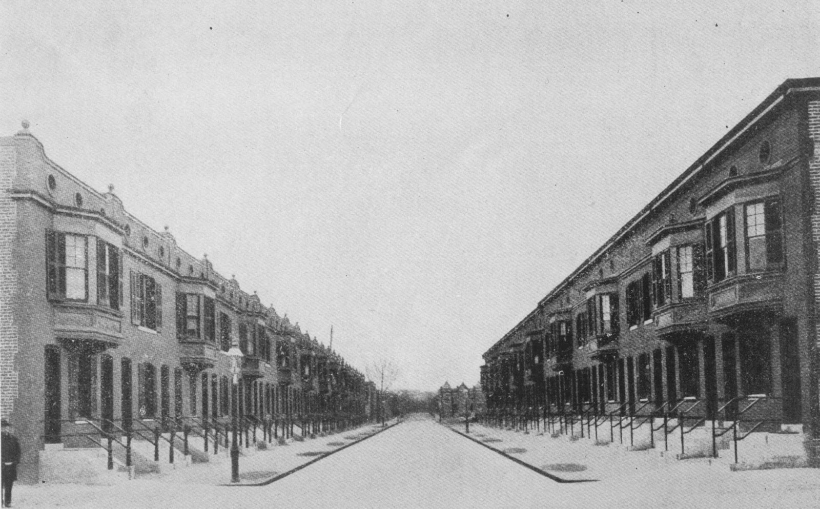 Sanitary Improvement Co Builds Bates St NW In 1902