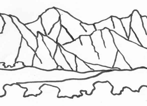wild treasures mountain coloring pages