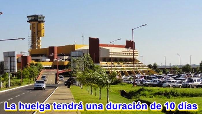 MUNDO: Huelga aeronáutica en Paraguay paralizará todos los vuelos