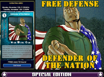 Defender of the Nation at Superhero City
