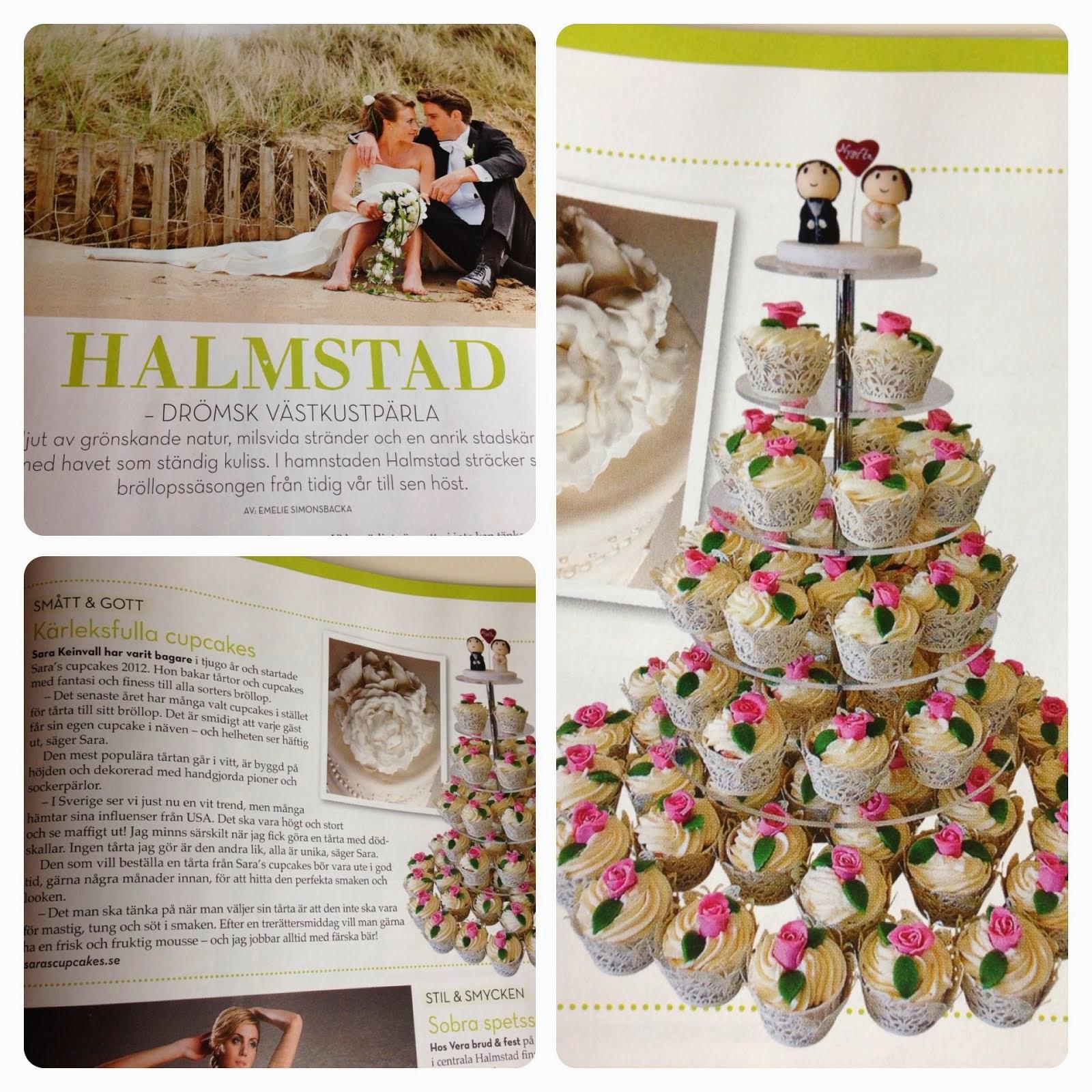 Sara's Cupcakes i Allt om Bröllop