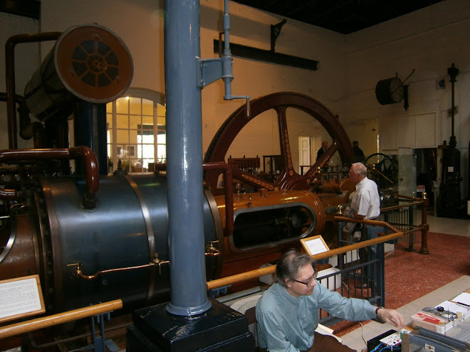 Kew is an old pumping station, here is an example of the machinery.