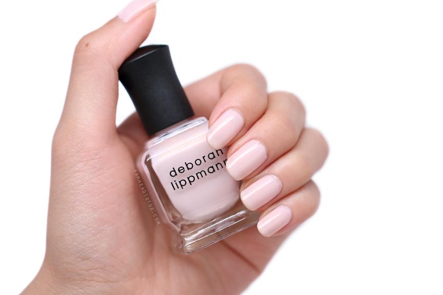 Manicure Monday: Deborah Lippmann La Vie En Rose - From Head To Toe