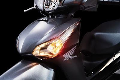 Honda Future 2012 - Đèn xi-nhan và đèn định vị