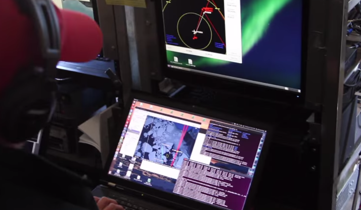 Ubuntu in NASA video