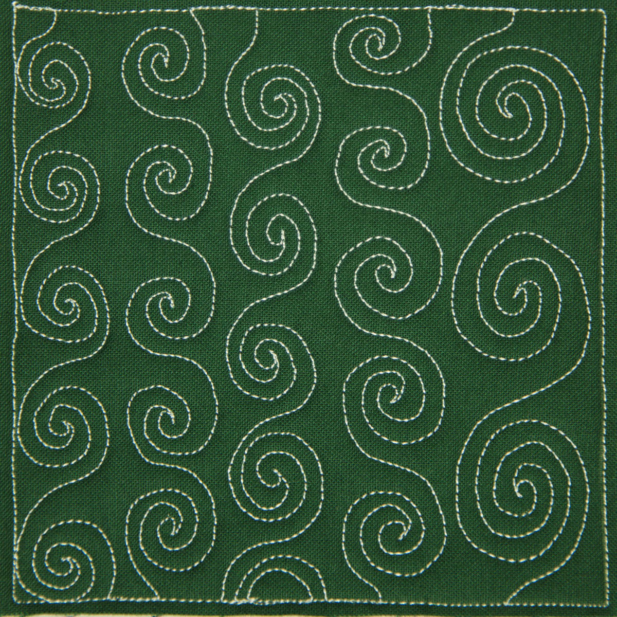 Free Motion Quilting Designs For Sashing : The Free Motion Quilting Project: Day 18 - Spiral Chain