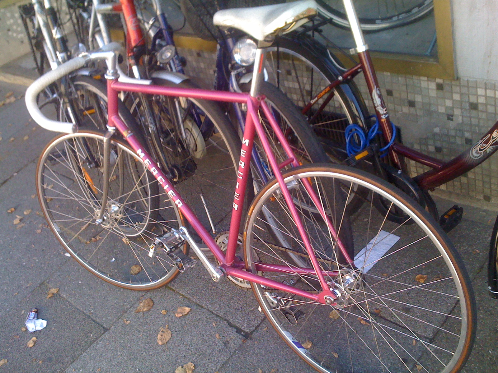 fixed gear (and) bikes blog   not another fixed-gear blog: Mercier ...