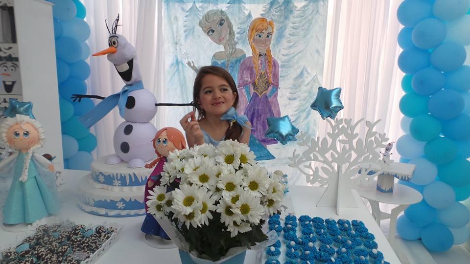 Festa Frozen da Vívian