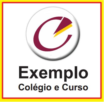 EXEMPLO COLÉGIO E CURSO