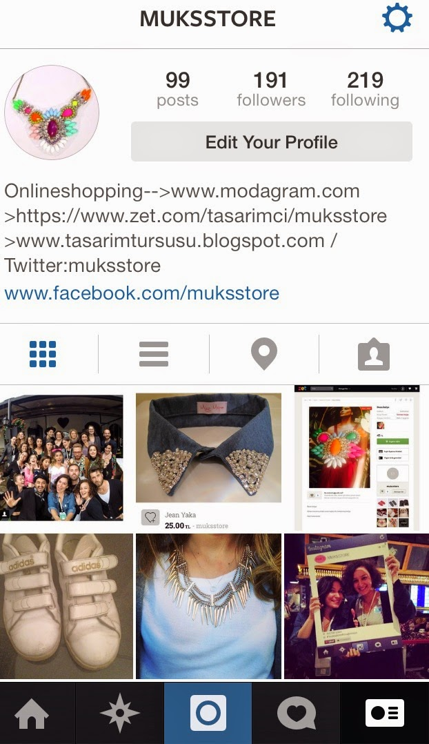 Follow @ Instagram