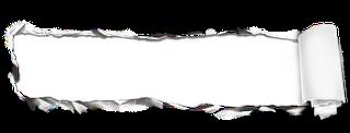 papel rasgado png