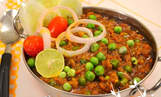 Bengali Recipe: Keema Matar (Ground Lamb with Peas)