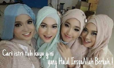 NOURA Girlband Berhijab, Cantik dan Anggun Lho Guys!