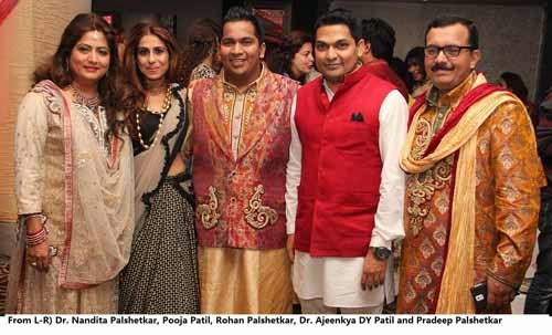 Rohan Palshetkar & Karishma Kirti Sangeet Ceremony Photos