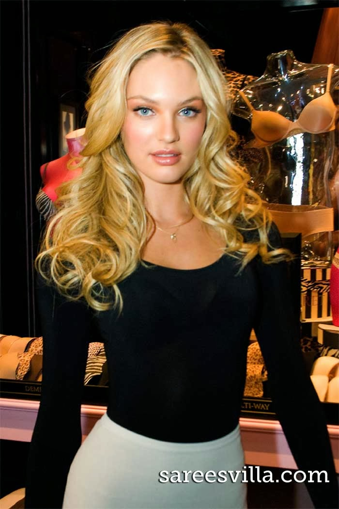 South African model Candice Swanepoel