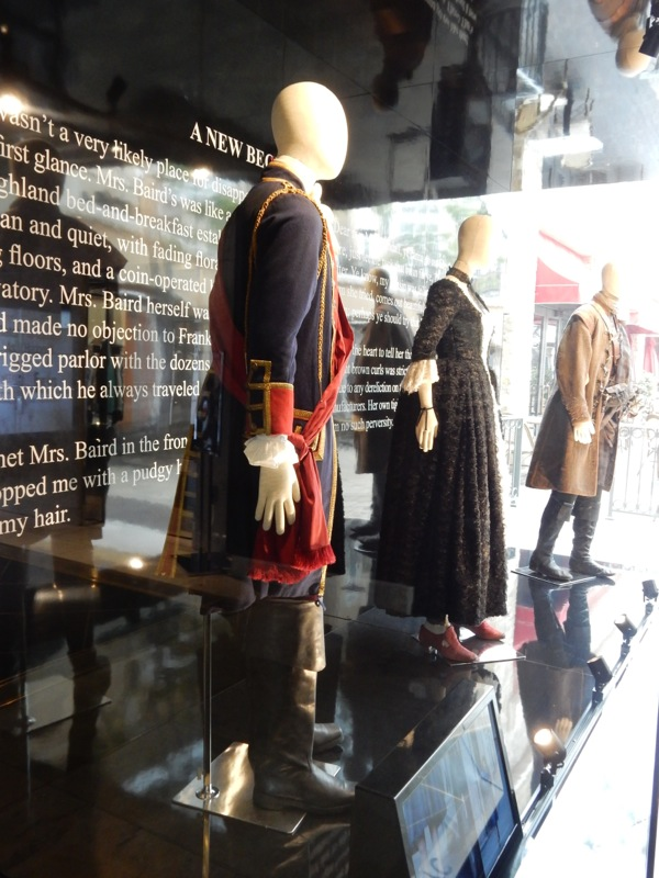 Outlander costume exhibit