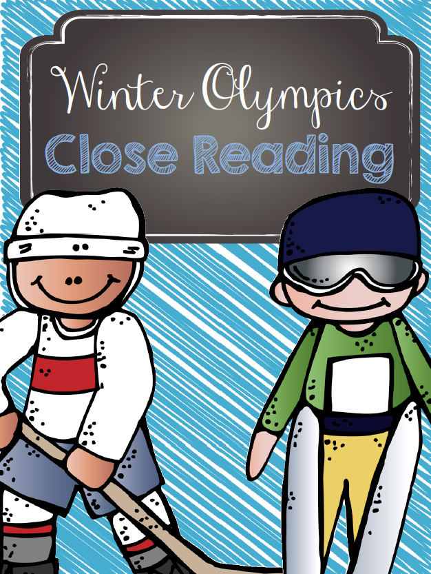 http://www.teacherspayteachers.com/Product/Winter-Olympics-Close-Reading-1072203