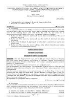 Subiecte limba si literatura engleza - titularizare 2012